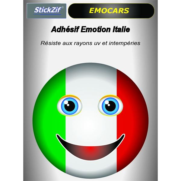 Sticker voiture EMOCARS Italie