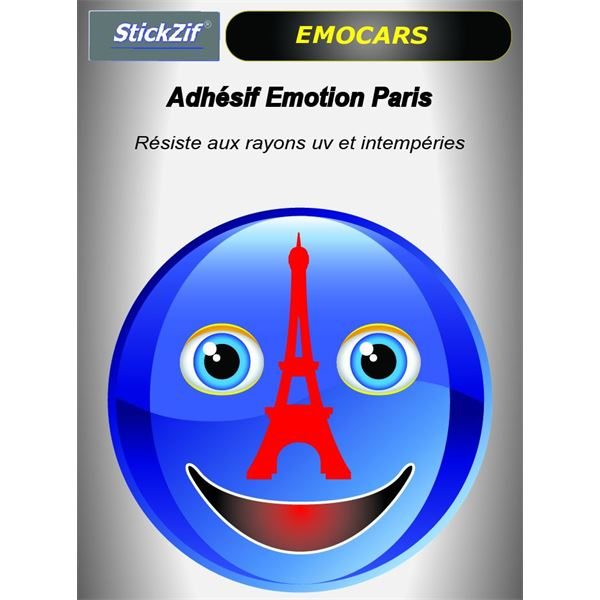 Sticker voiture EMOCARS Paris