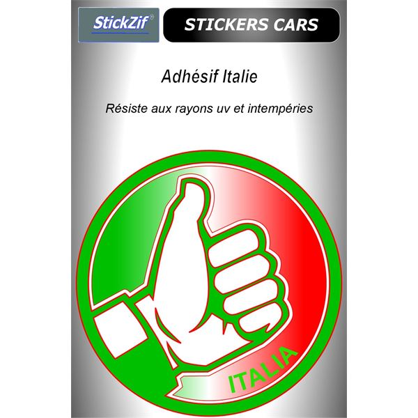 Sticker voiture Italie