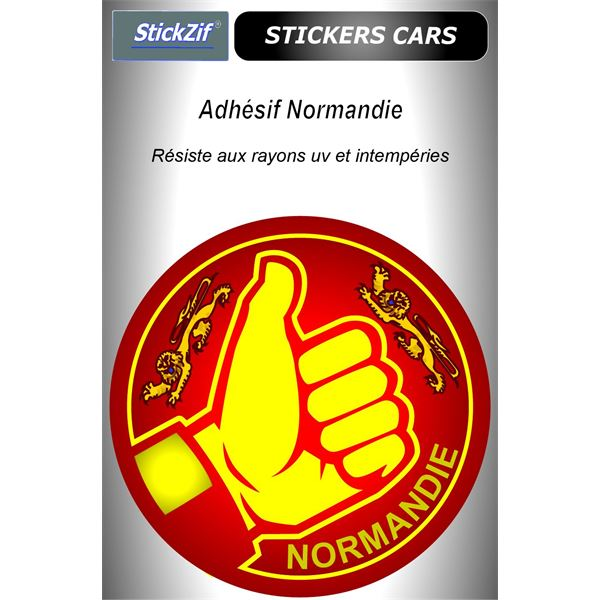 Sticker voiture Normandie