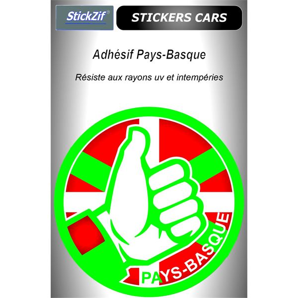 Sticker voiture Pays-Basque