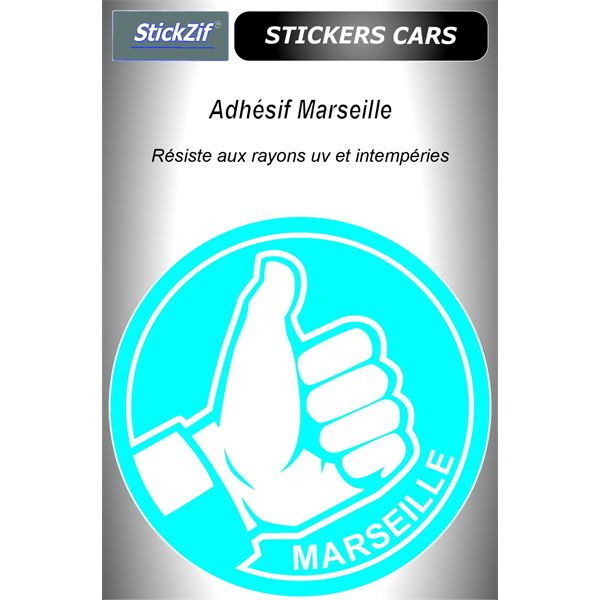 Sticker voiture Marseille