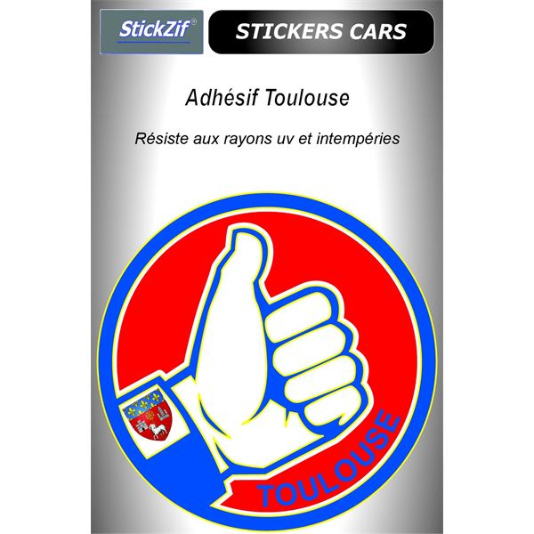 Sticker voiture Toulouse