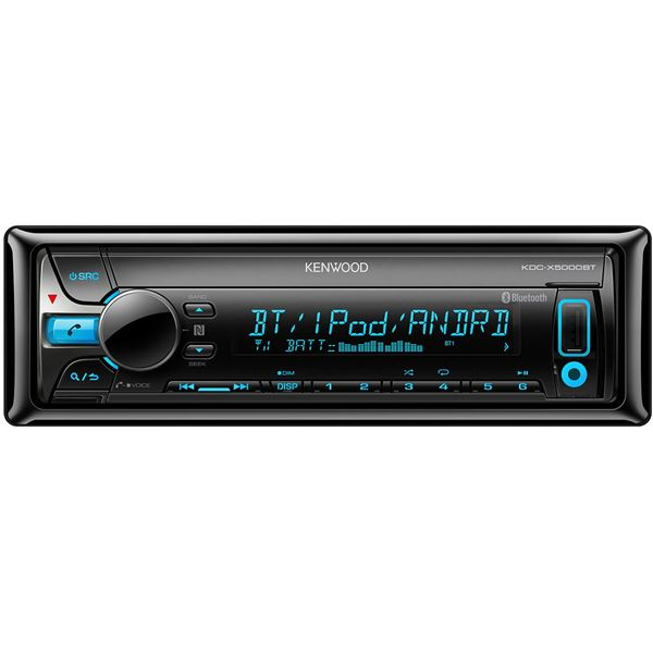 Autoradio Bluetooth Kenwood KDC-X5000BT
