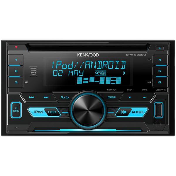 Autoradio Bluetooth Kenwood DPX-3000U