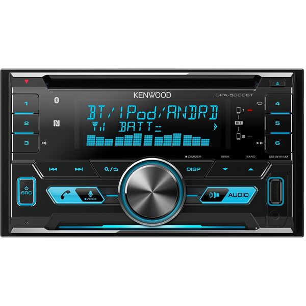 autoradio bluetooth kenwood dpx 5000bt feu vert. Black Bedroom Furniture Sets. Home Design Ideas
