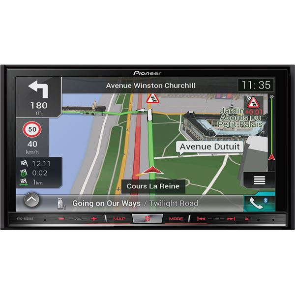 autoradio gps pioneer avic f80dab feu vert. Black Bedroom Furniture Sets. Home Design Ideas
