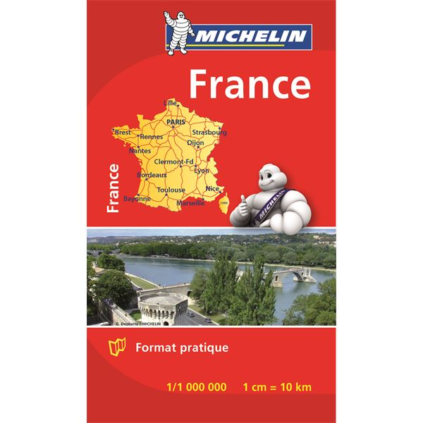 Mini carte de France 2016 MICHELIN