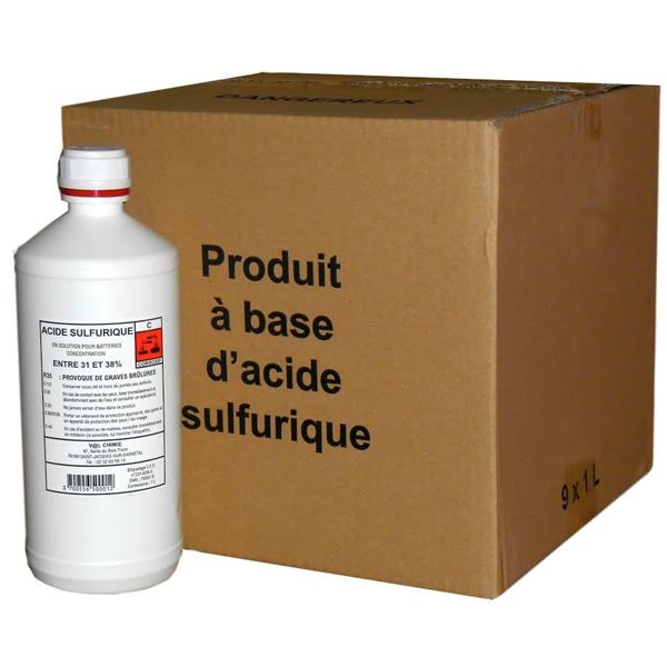 Acide pour batteries Sol Bat 1l