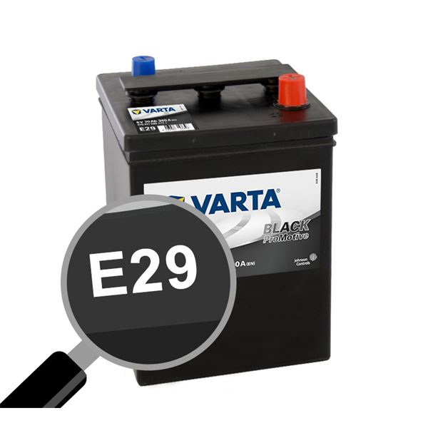 Batterie voiture Varta E29 6 volts