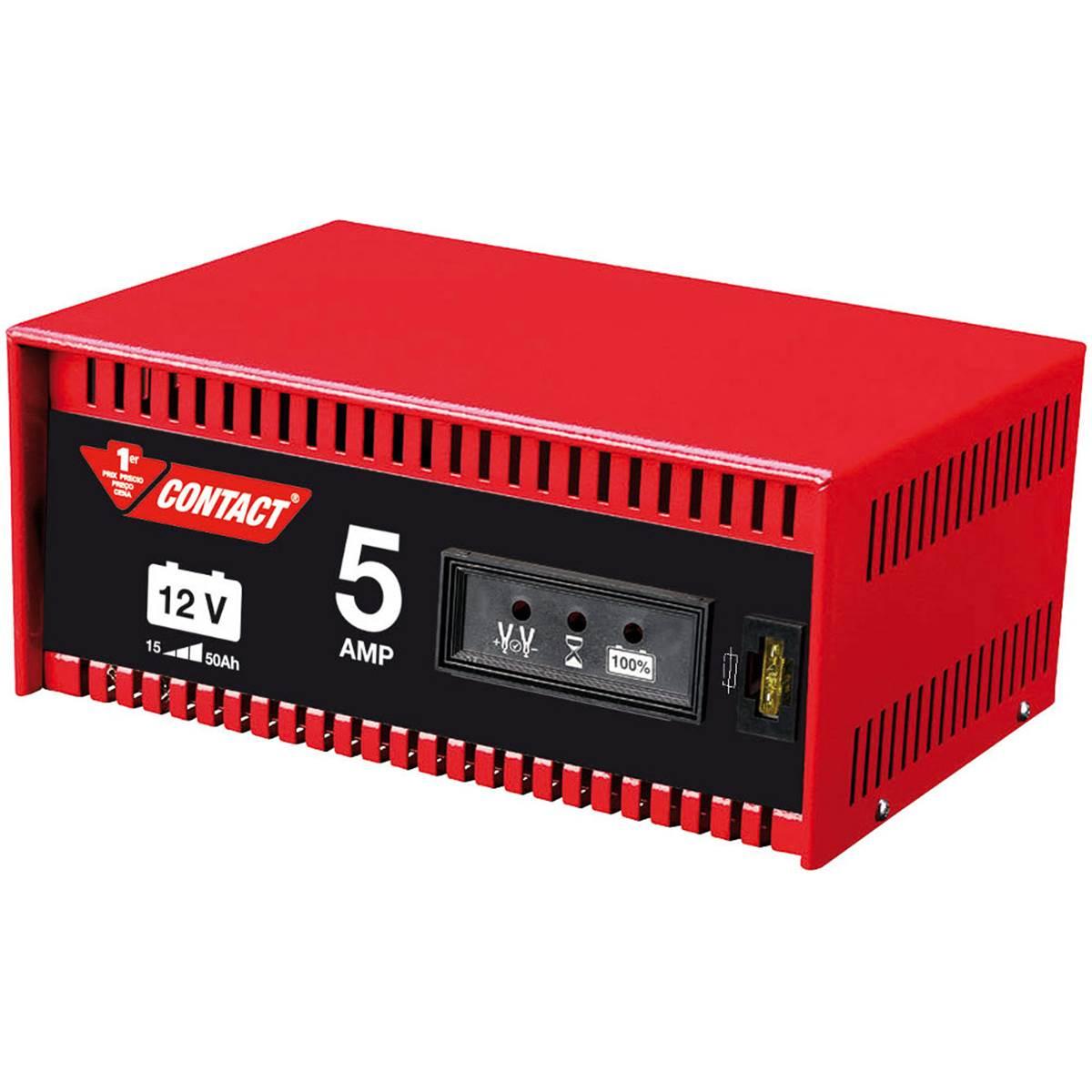 Chargeur de batterie 5 ampères Contact