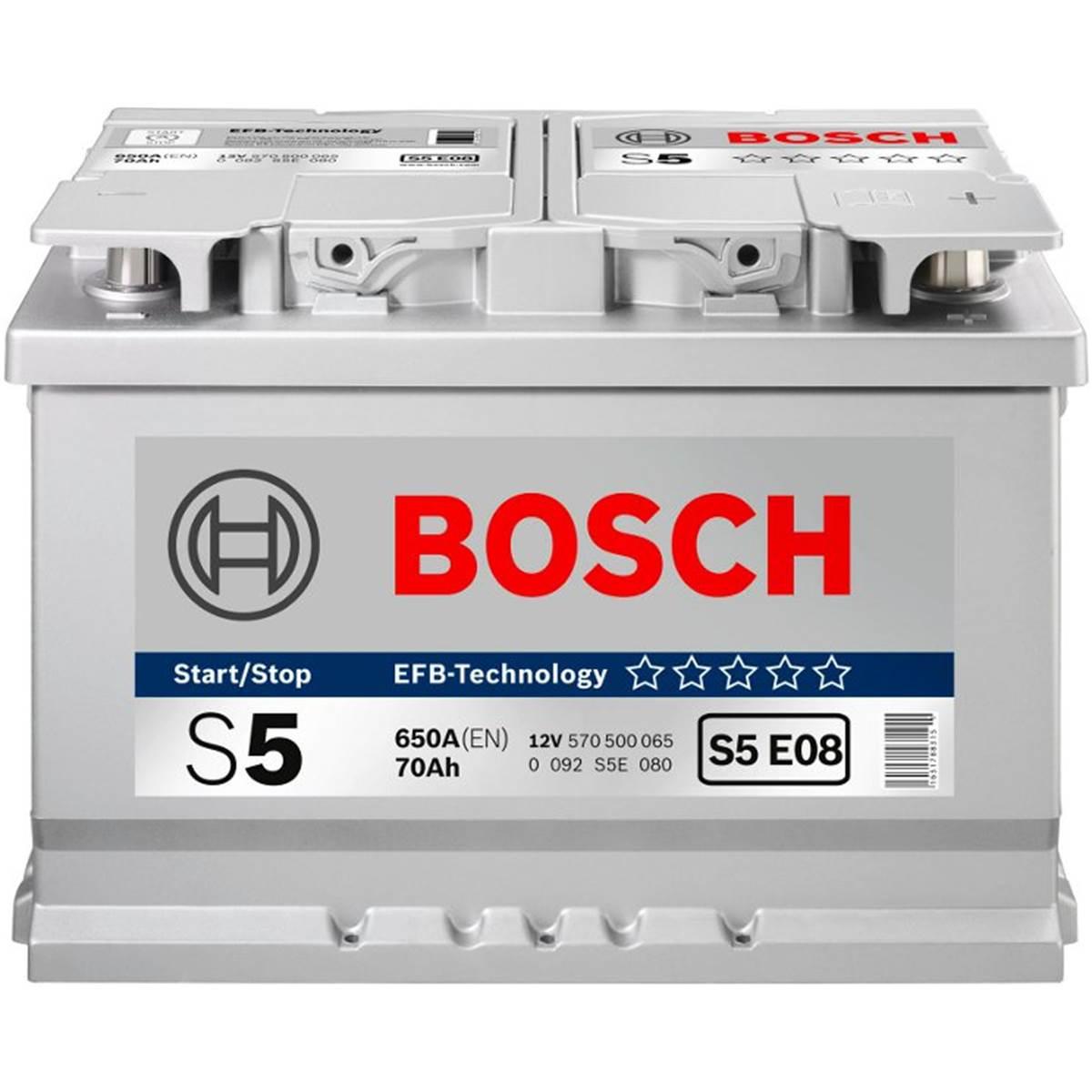 Batterie voiture Bosch Start-Stop EFB S5-E05