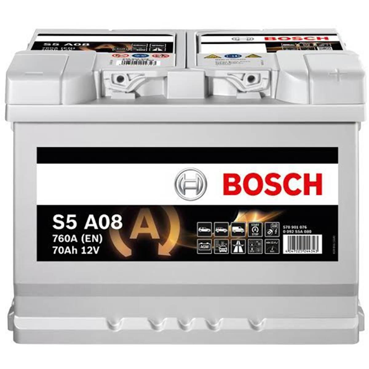 Batterie voiture Bosch Start-Stop AGM S6-008