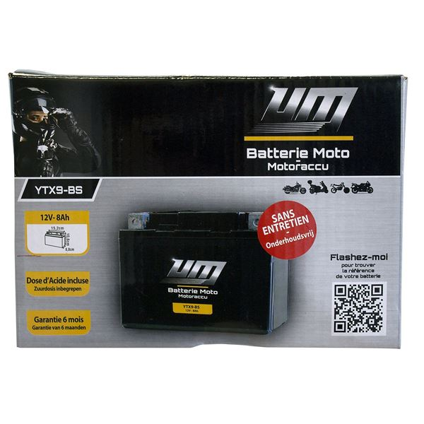 Batterie scooter et moto YTX9-BS