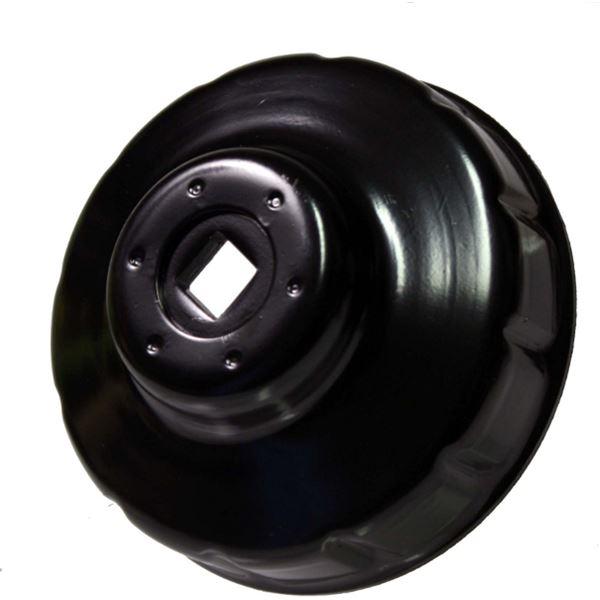 Cle cloche filtre huile 76 mm