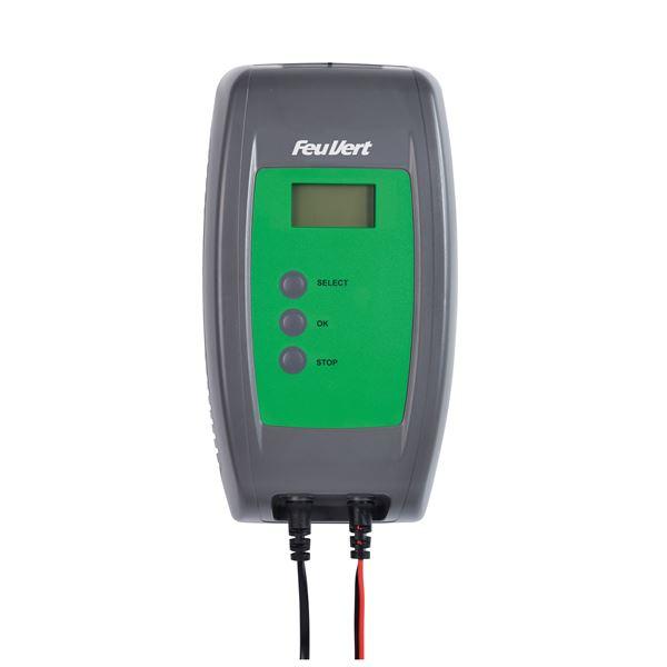 Chargeur De Batterie Automatique Feu Vert 12 Volts 8 Amperes Feu Vert