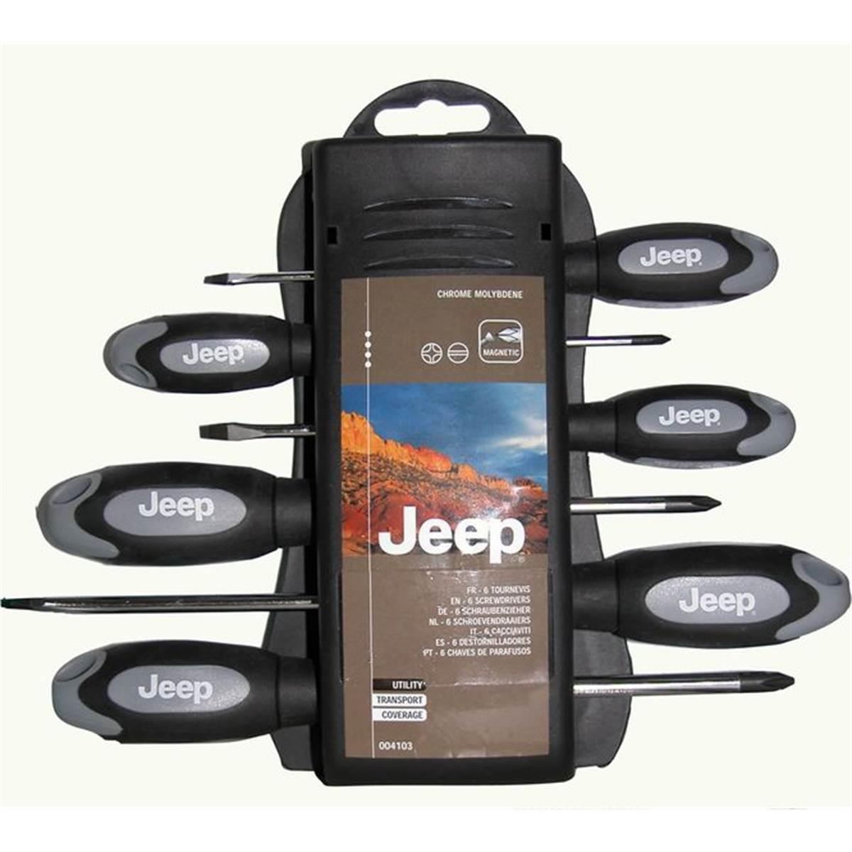 Set de tournevis Jeep
