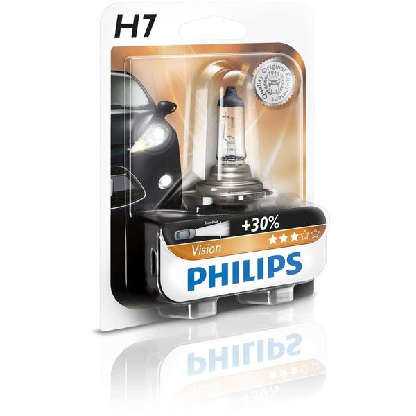 ampoule philips vision h7 feu vert. Black Bedroom Furniture Sets. Home Design Ideas