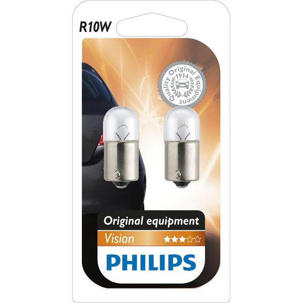 2 ampoules Philips Vision R10W