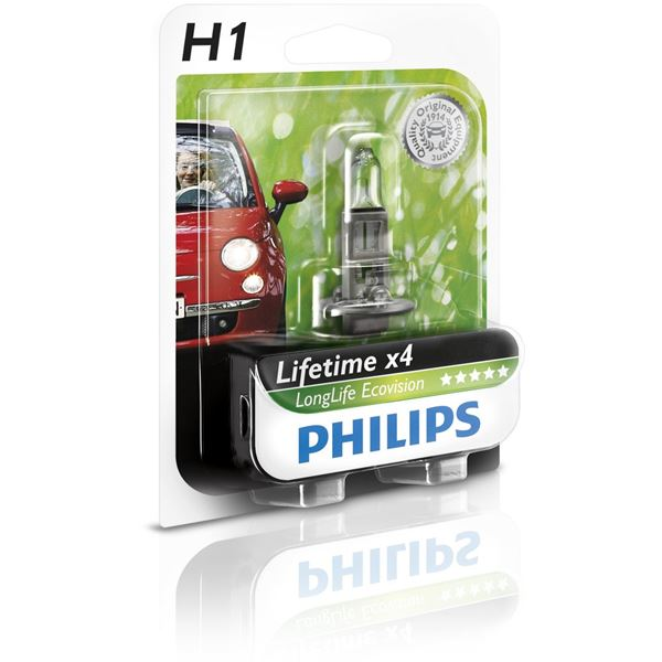 Ampoule Philips Long Life Eco Vision H1