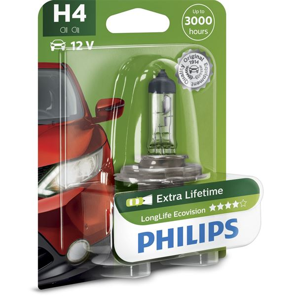 1 ampoules Philips premium Long Life H4