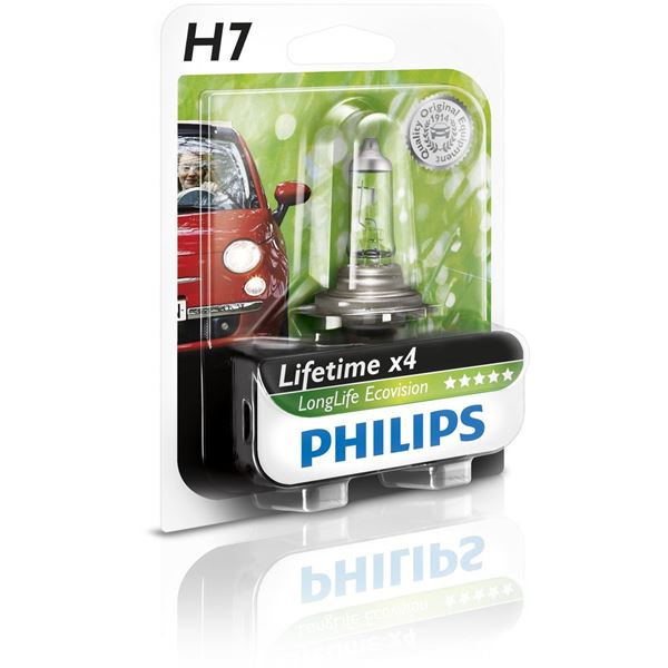 Ampoule Philips Long Life Eco Vision H7
