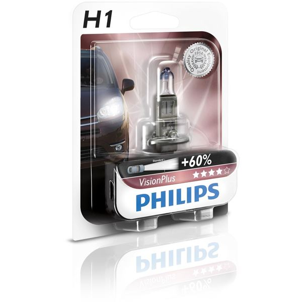 Ampoule Philips Vision Plus 60 H1