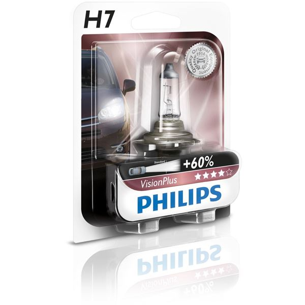 Ampoule Philips Vision Plus 60 H7