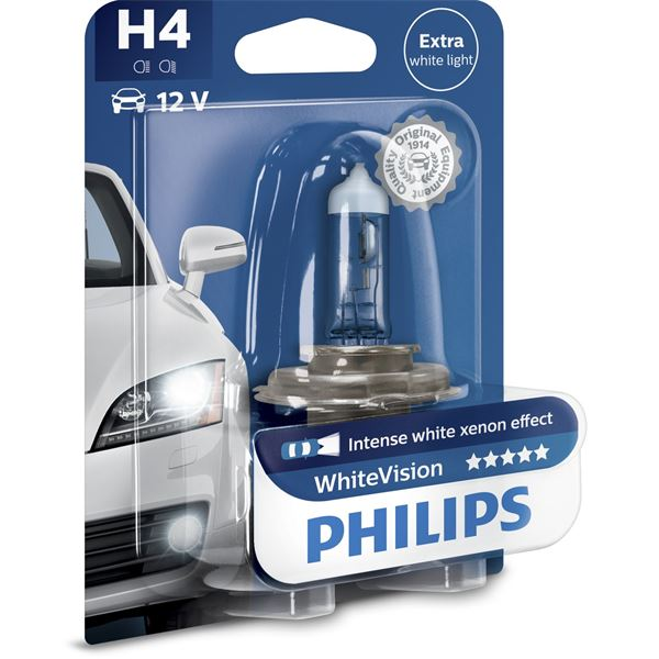 Ampoule Philips White Vision H4
