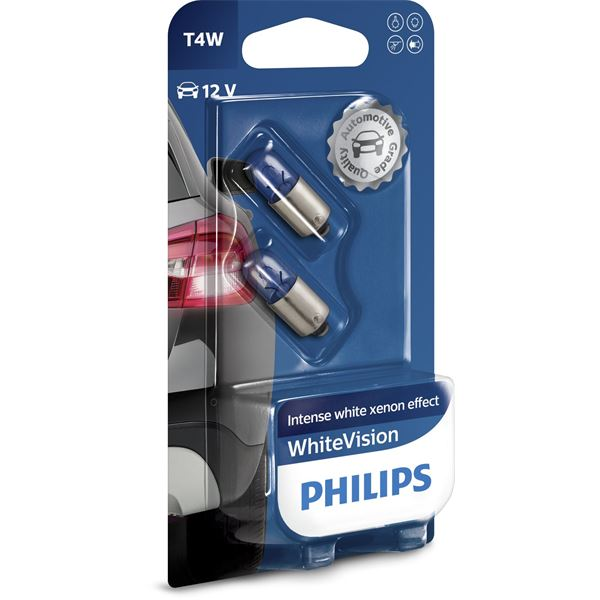 2 ampoules Philips White Vision T4W