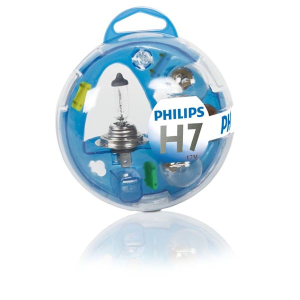 Coffret d'ampoules Philips Essential H7