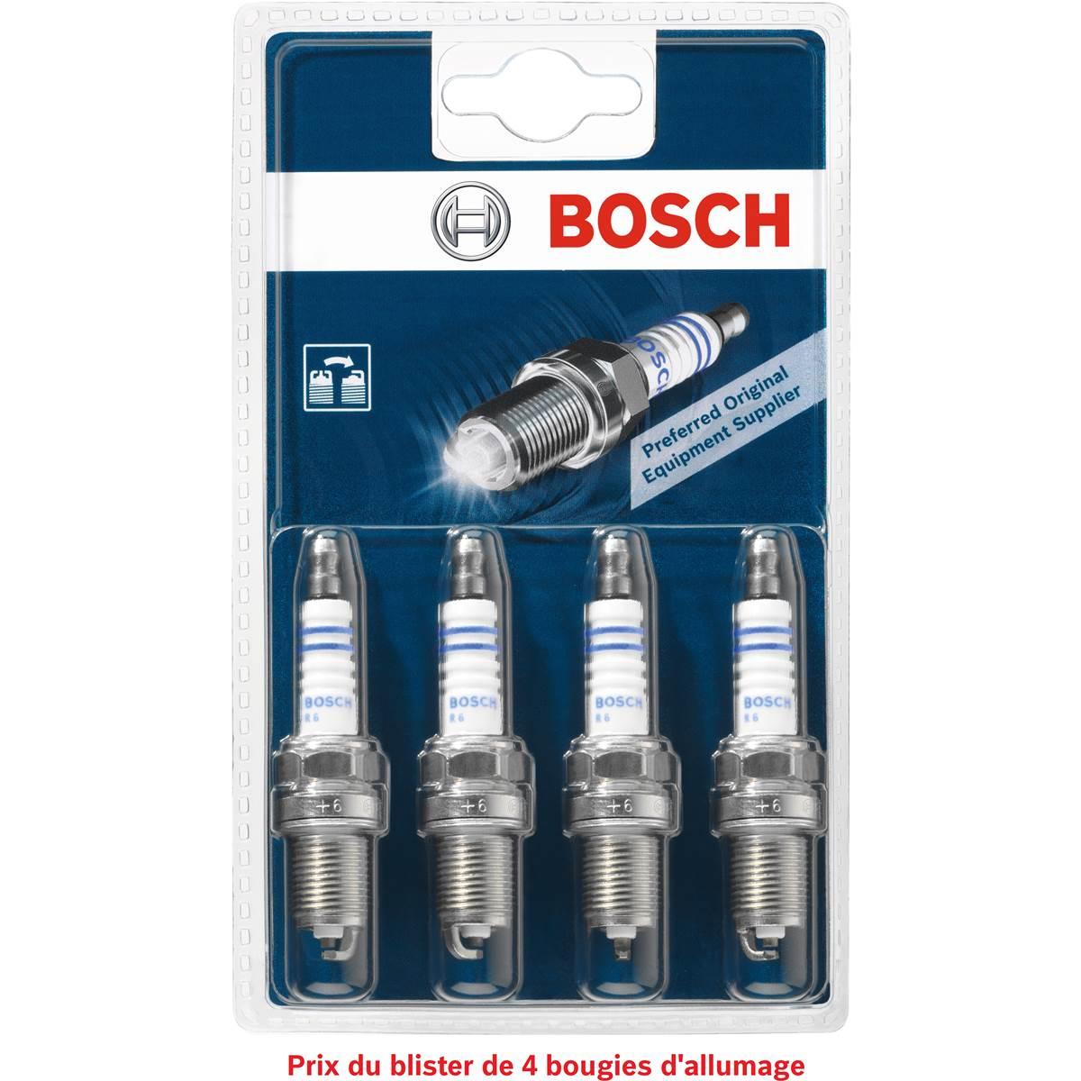 Bougies d'allumage Bosch N°6