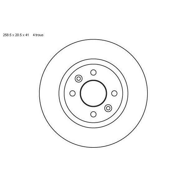 2 disques de frein avant sbs 203910 feu vert. Black Bedroom Furniture Sets. Home Design Ideas
