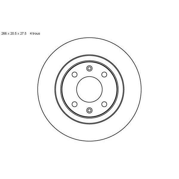 2 disques de frein avant sbs 209915 feu vert. Black Bedroom Furniture Sets. Home Design Ideas