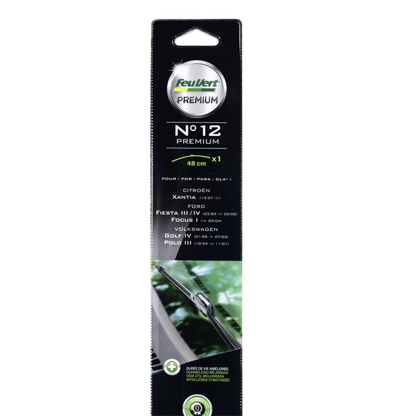 balai essuie glace plat feu vert premium n 12 feu vert. Black Bedroom Furniture Sets. Home Design Ideas