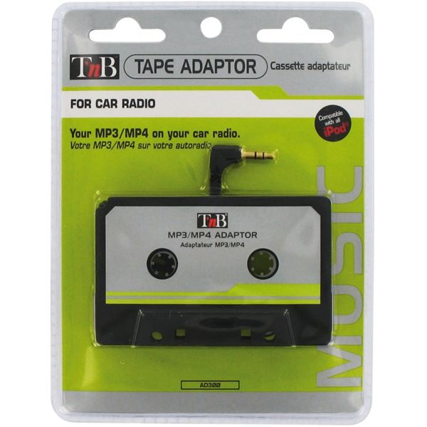 adaptateur sur autoradio k7 pour mp3 cd t 39 nb feu vert. Black Bedroom Furniture Sets. Home Design Ideas