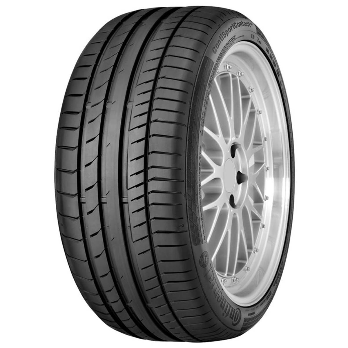 Continental Conti Sportcontact 5 Mgt / Fuel Efficiency: E, Wet Grip: A, Ext. Rolling Noise: 72db, Rolling Noise Class: B