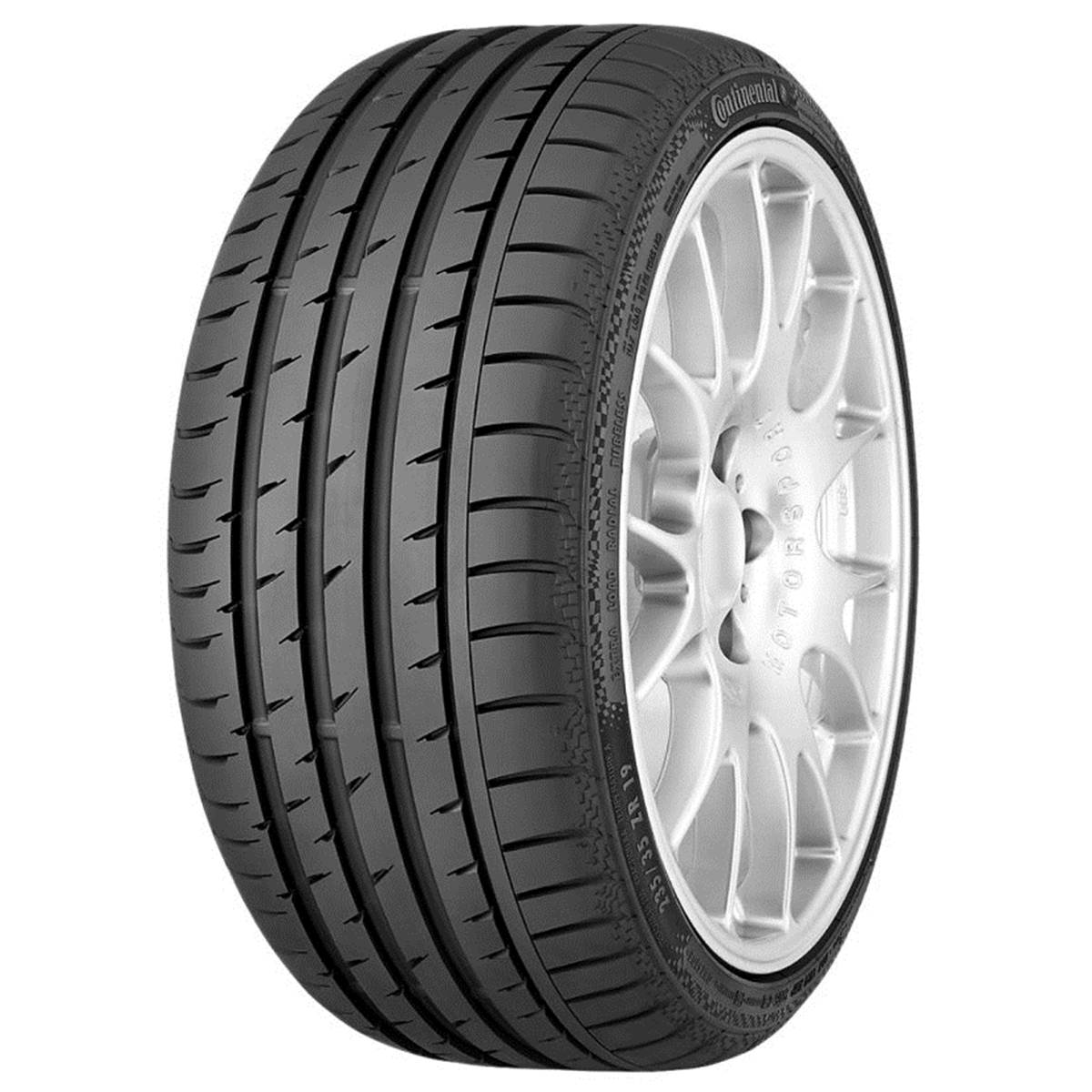 Continental Conti Sportcontact 3 Ssr (*) / Fuel Efficiency: F, Wet Grip: C, Ext. Rolling Noise: 71db, Rolling Noise Class: B