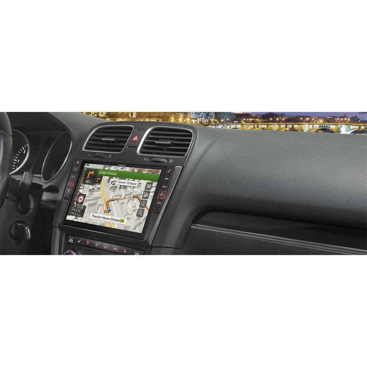 Autoradio GPS Alpine X901D-G6 pour Golf 6