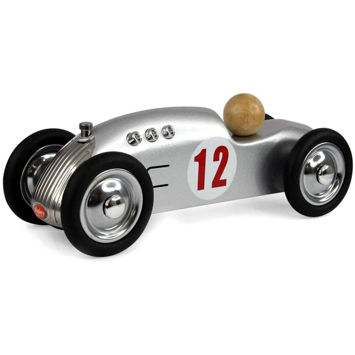Mini voiture en métal Rocket silver Baghera