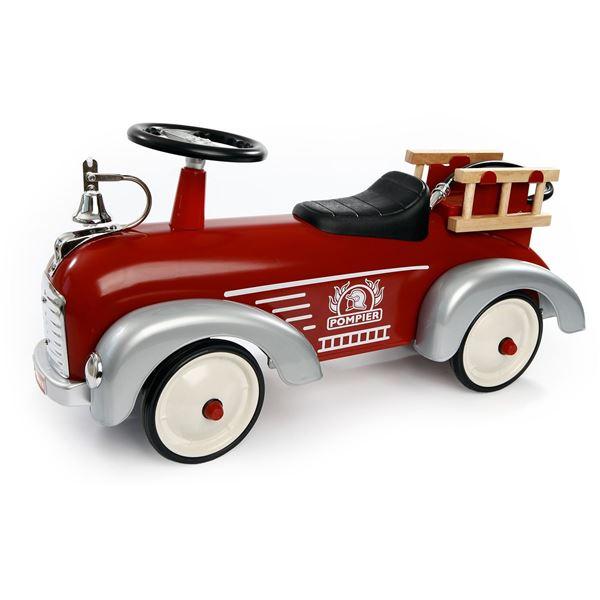 Porteur Speedster pompier Baghera - Feu Vert 35f73c95c64