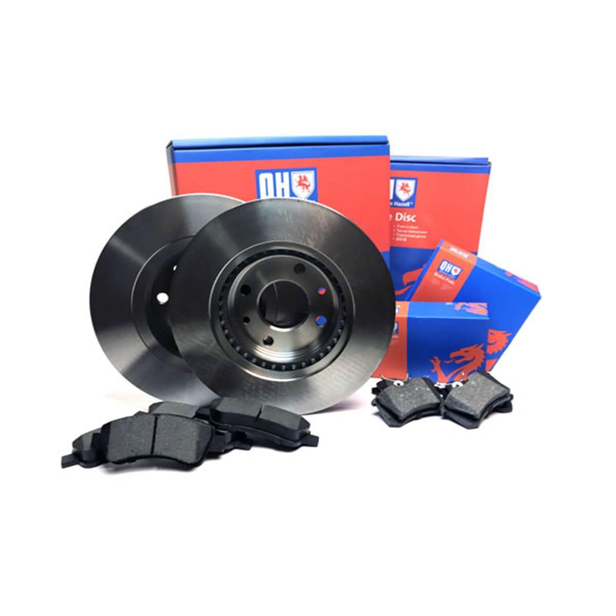 1 disque de frein avant Quinton Hazell BDC3804