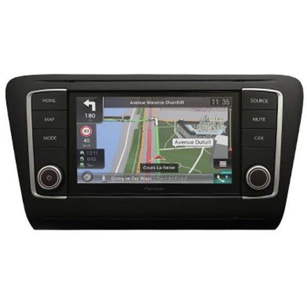 autoradio gps pioneer navgate evo octavia feu vert. Black Bedroom Furniture Sets. Home Design Ideas