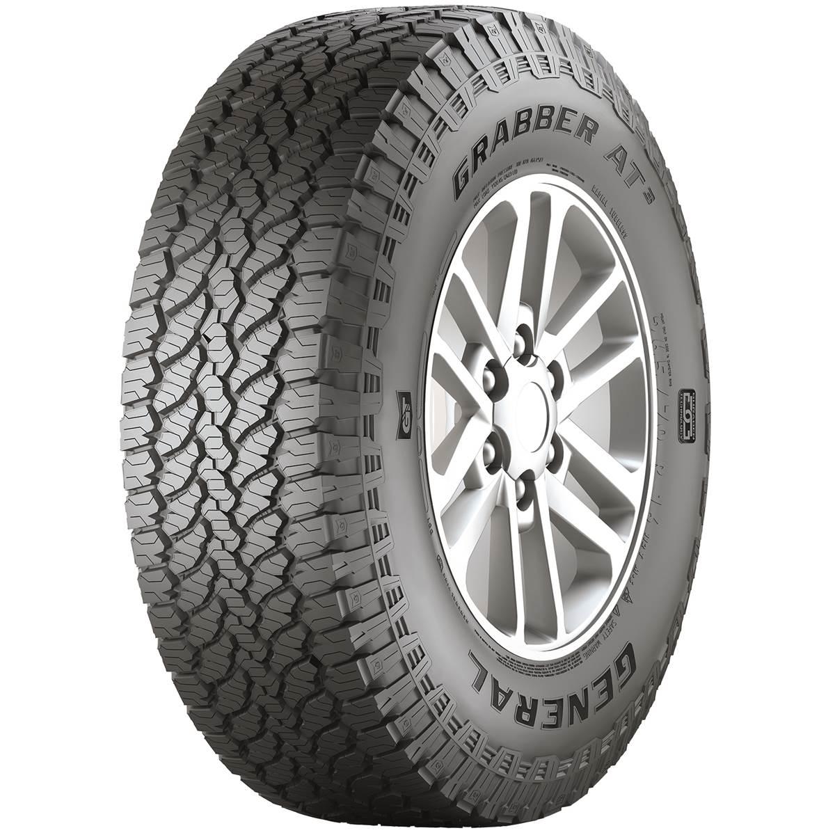 Pneu 4X4 Général tire 255/55R20 110H Grabber At3 XL