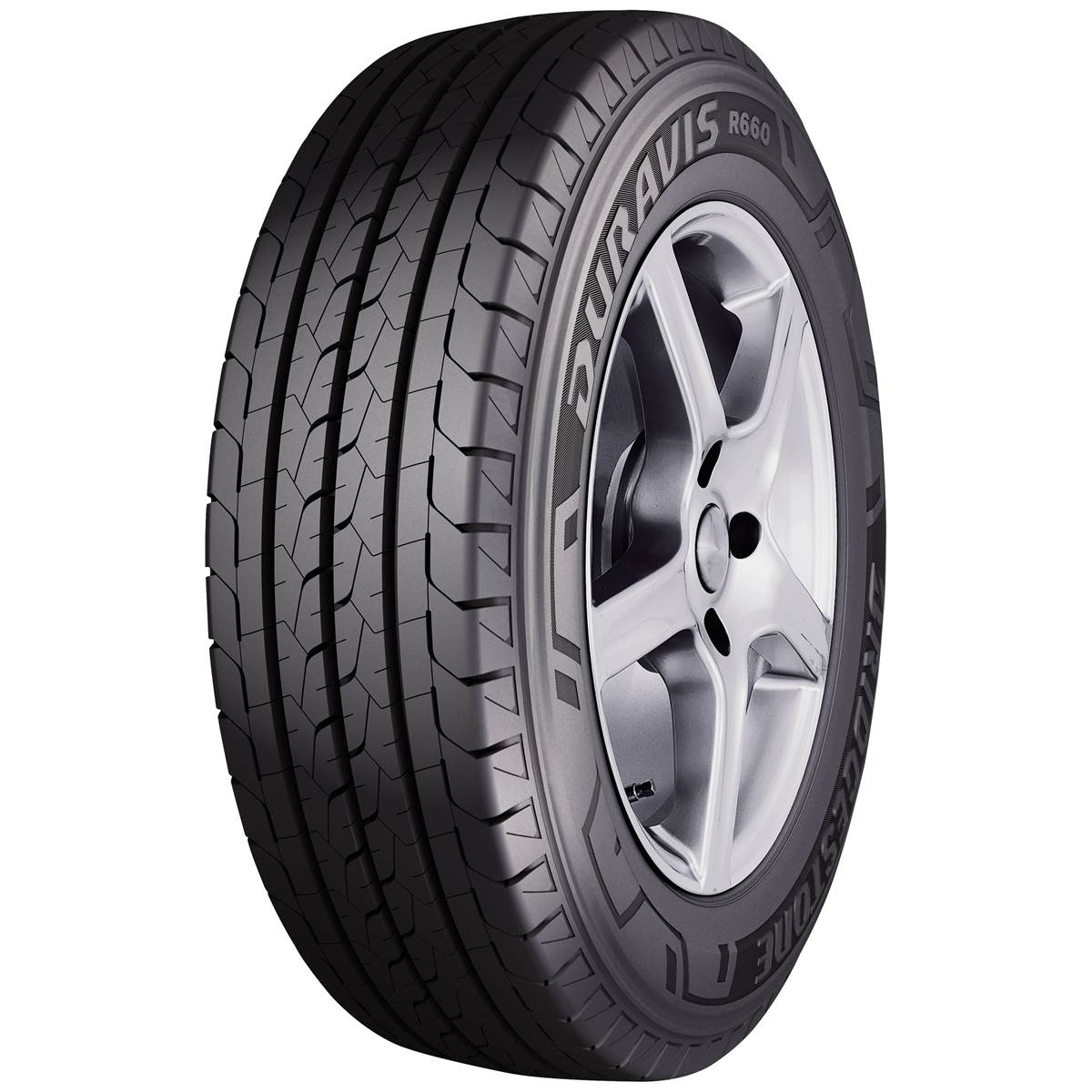 Pneu Camionnette Bridgestone 165/70R14 89R Duravis R660