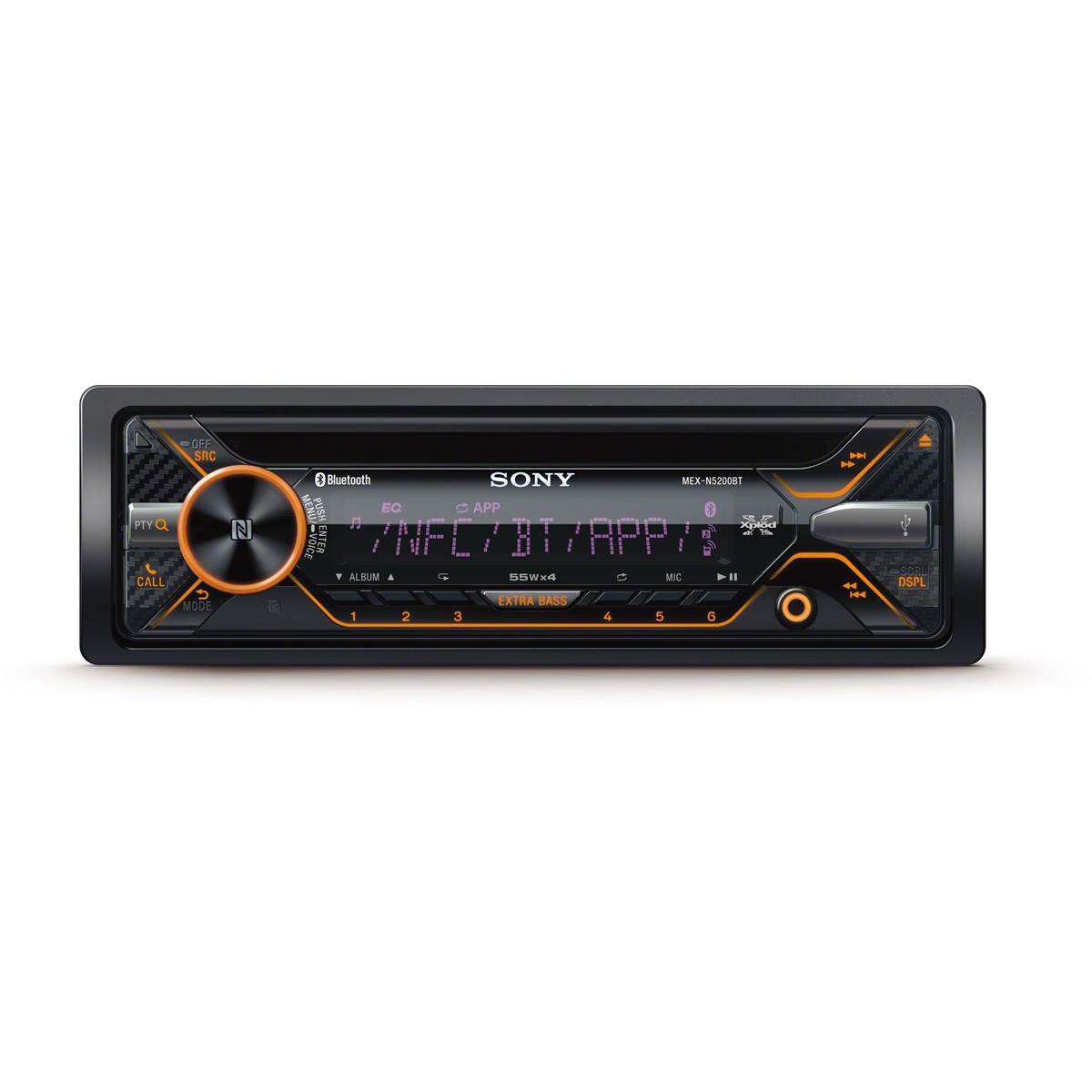 Autoradio Bluetooth SONY MEX-N4200BT