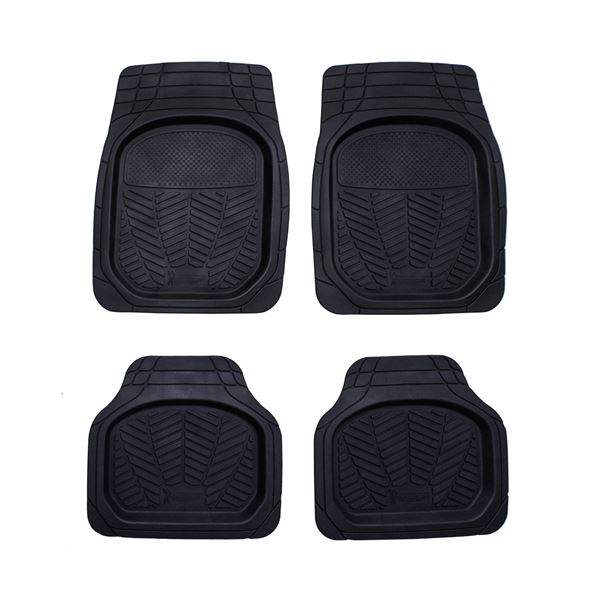 4 tapis de voiture caoutchouc bac 3d michelin feu vert. Black Bedroom Furniture Sets. Home Design Ideas