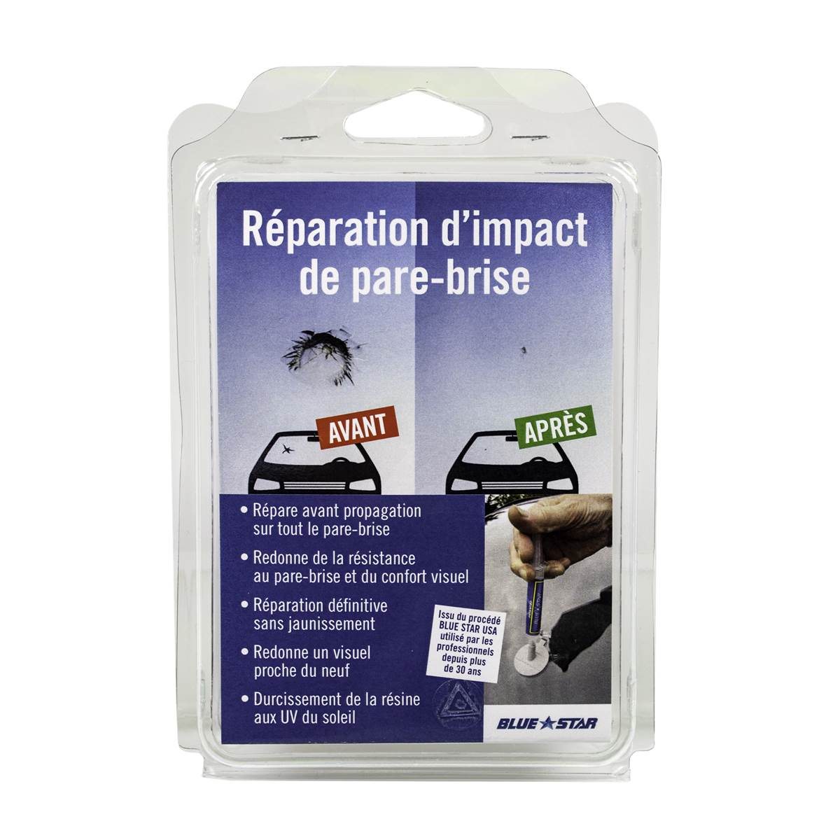 26302e32da43a Kit de réparation de pare-brise - Feu Vert