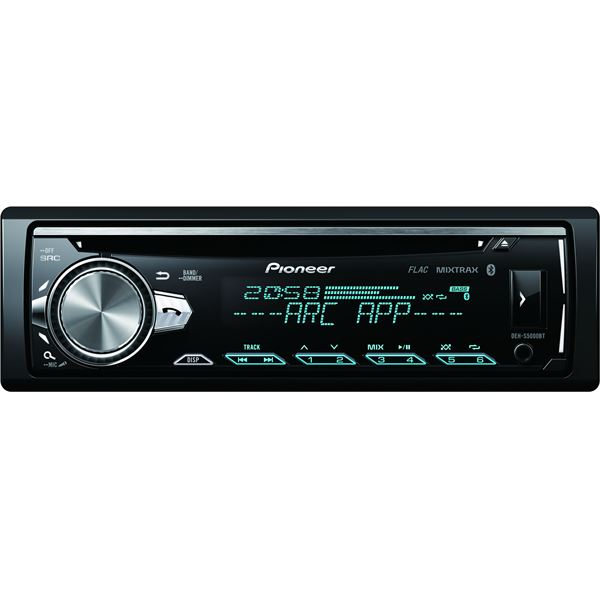 autoradio pioneer deh s5000bt feu vert. Black Bedroom Furniture Sets. Home Design Ideas