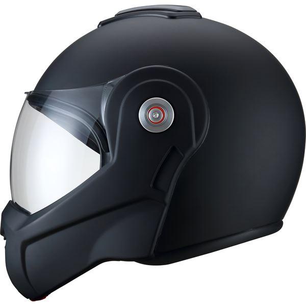 Casque Moto Modulable Rebel Noir Mat Taille Xl Ksk Feu Vert